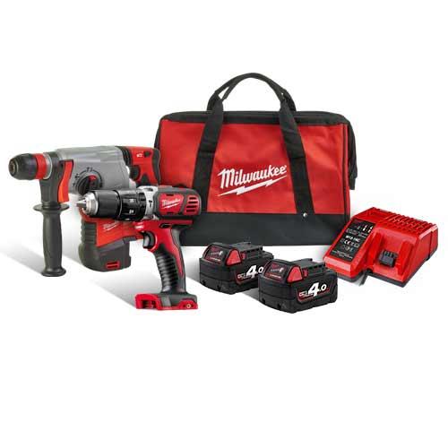 Kit utensili a batteria Milwaukee M12 e M18