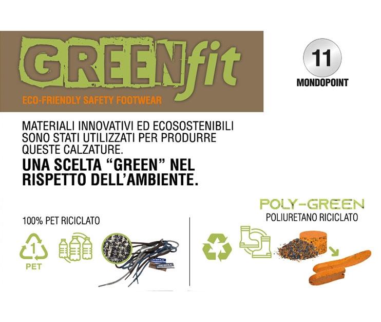 Scarpe antinfortunistiche Cofra AREA (S1P SRC) GREEN FIT ESTIVA SENZA IMBOTTITURA