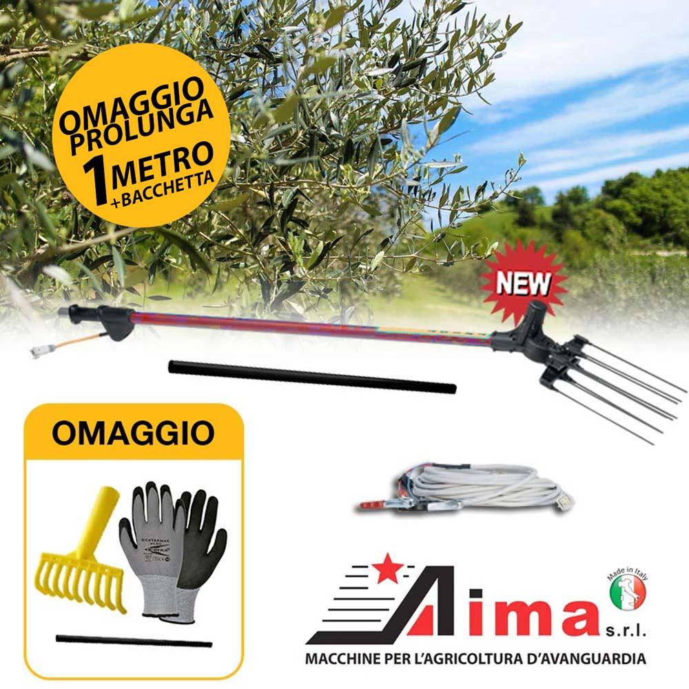 Aima TWIST 12V standard scuotitore abbacchiatore olive miglior prezzo e omaggi