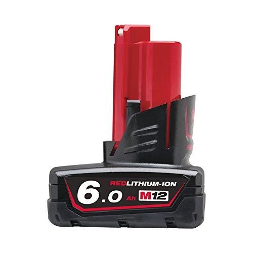 Milwaukee batteria M12B6 12V 6Ah Li-ion per utensili famiglia M12