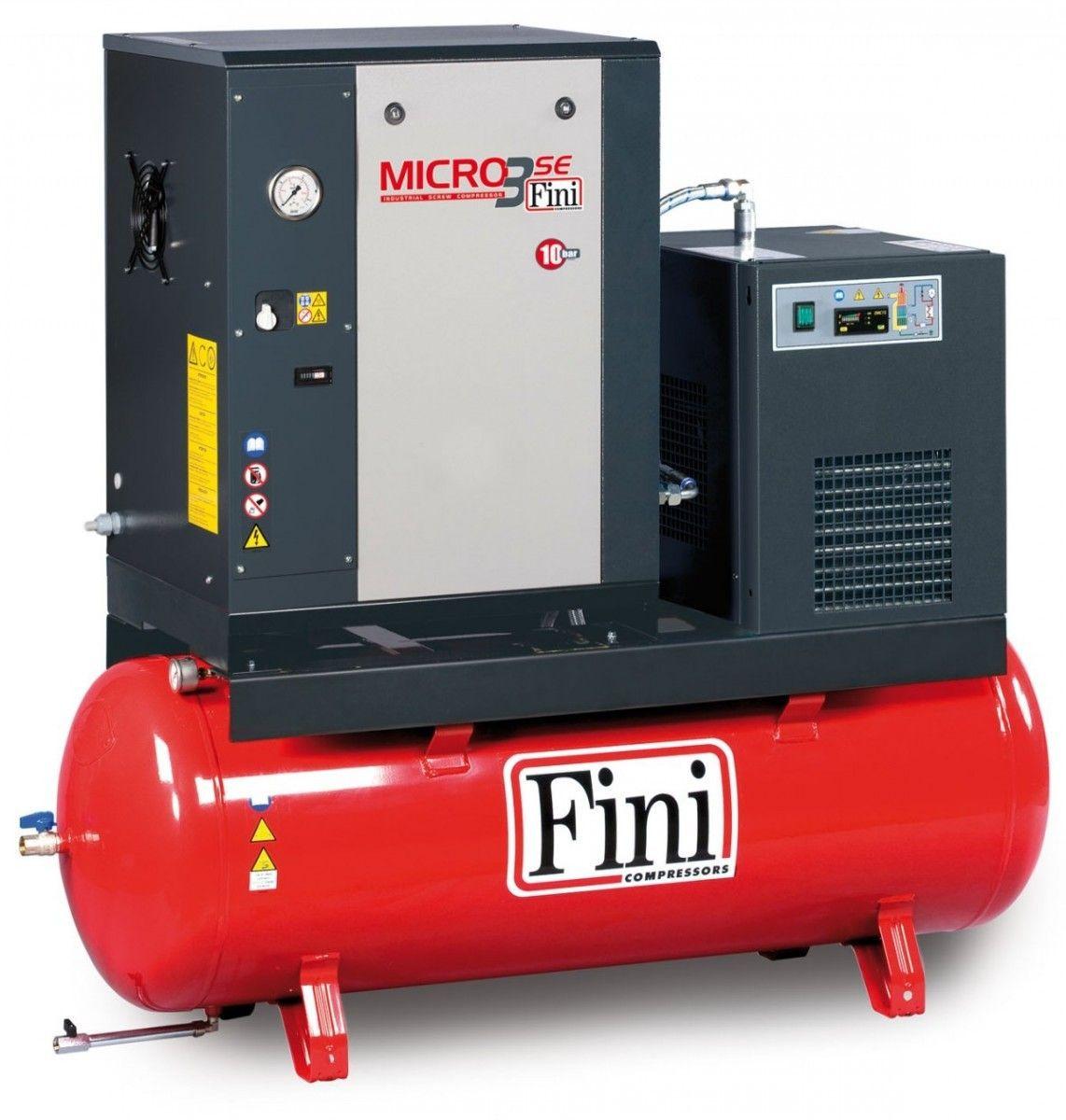 Compressore con essicatore Fini Micro SE 310-200 ES