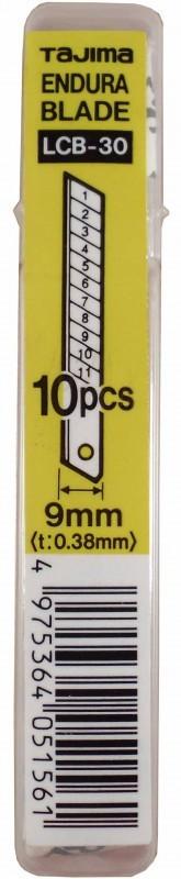 Lame taglierino Cutter Tajima 9mm LCB30 (10Pz)
