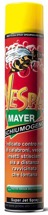 Insetticida Vespamayer schiumogeno 750ml
