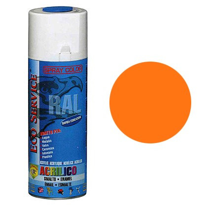 Eco Service RAL2003 spray 400ml - Arancio Pastello