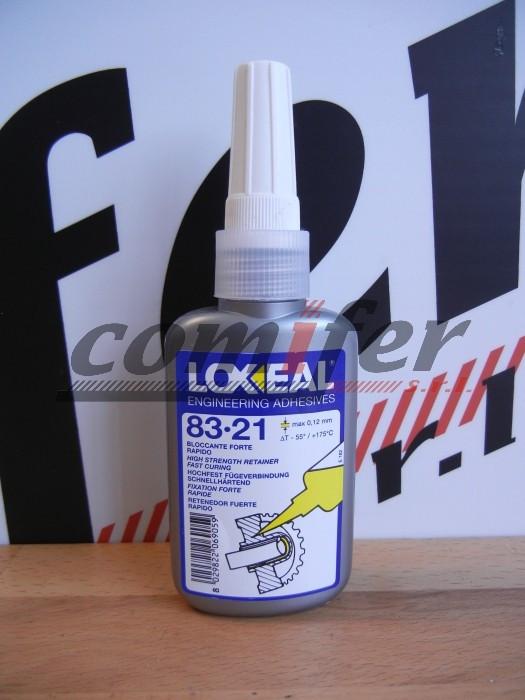 Loxeal 83-21 bloccante e sigillante per montaggio permanente 50ml