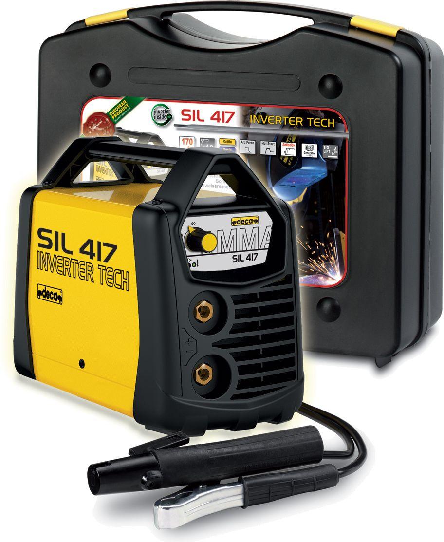 Saldatrice inverter Deca SIL 417 (170 A) con KIT completo pronta all'uso