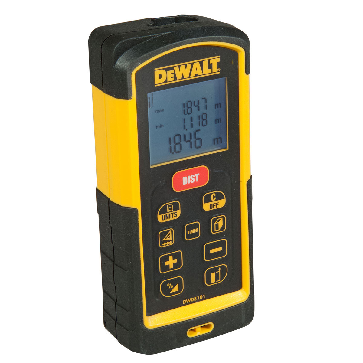 Misuratore laser metro distanziometro 100 m Dewalt DW03101