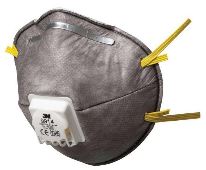 3m mascherina antipolvere ffp3 con valvola
