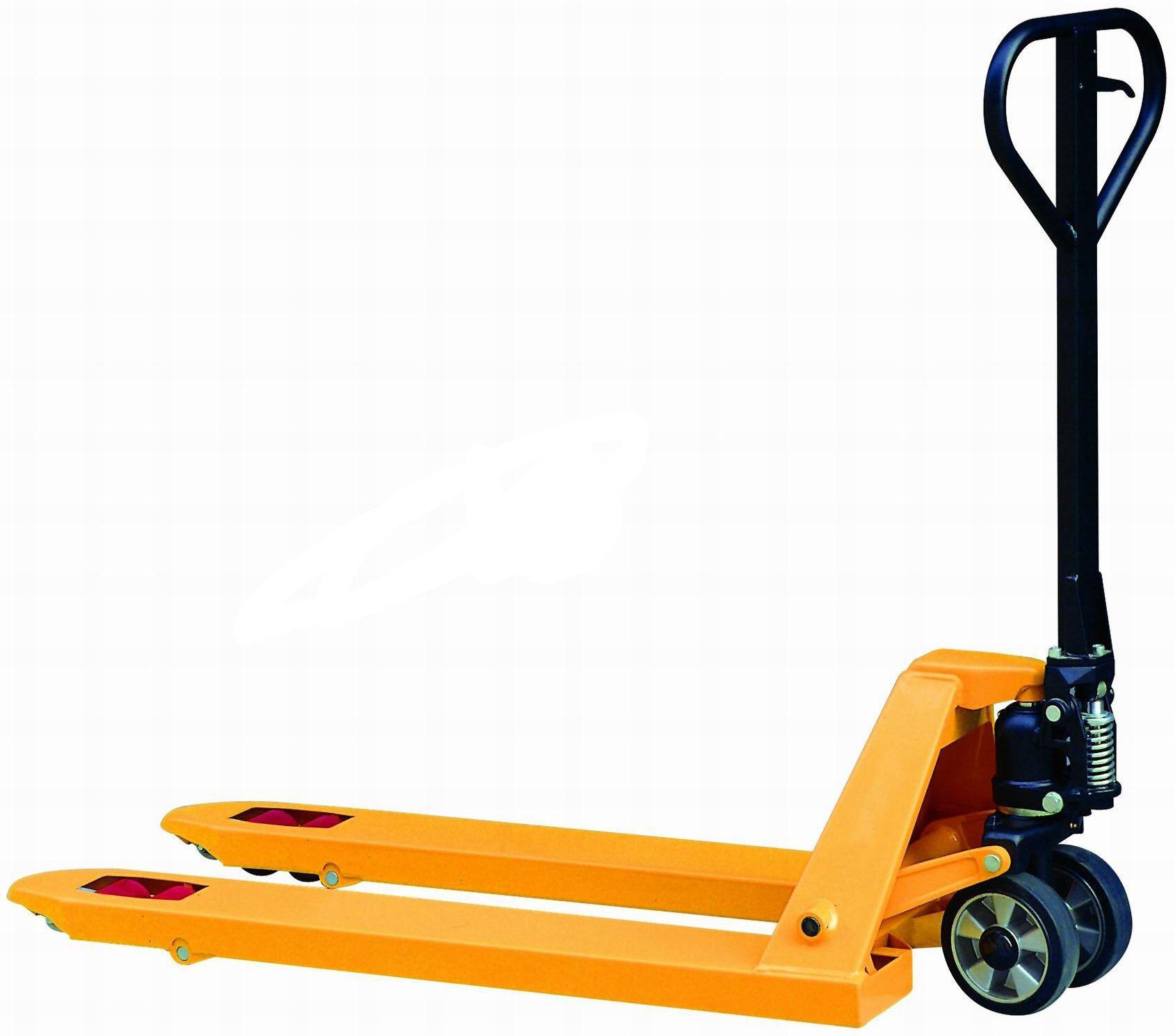 Transpallet Novamach N1/GP - portata 2500kg - 1150x540mm - 1 rullo