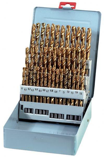 Fervi P010/41 - Serie punte cilindriche a decimi rettificate