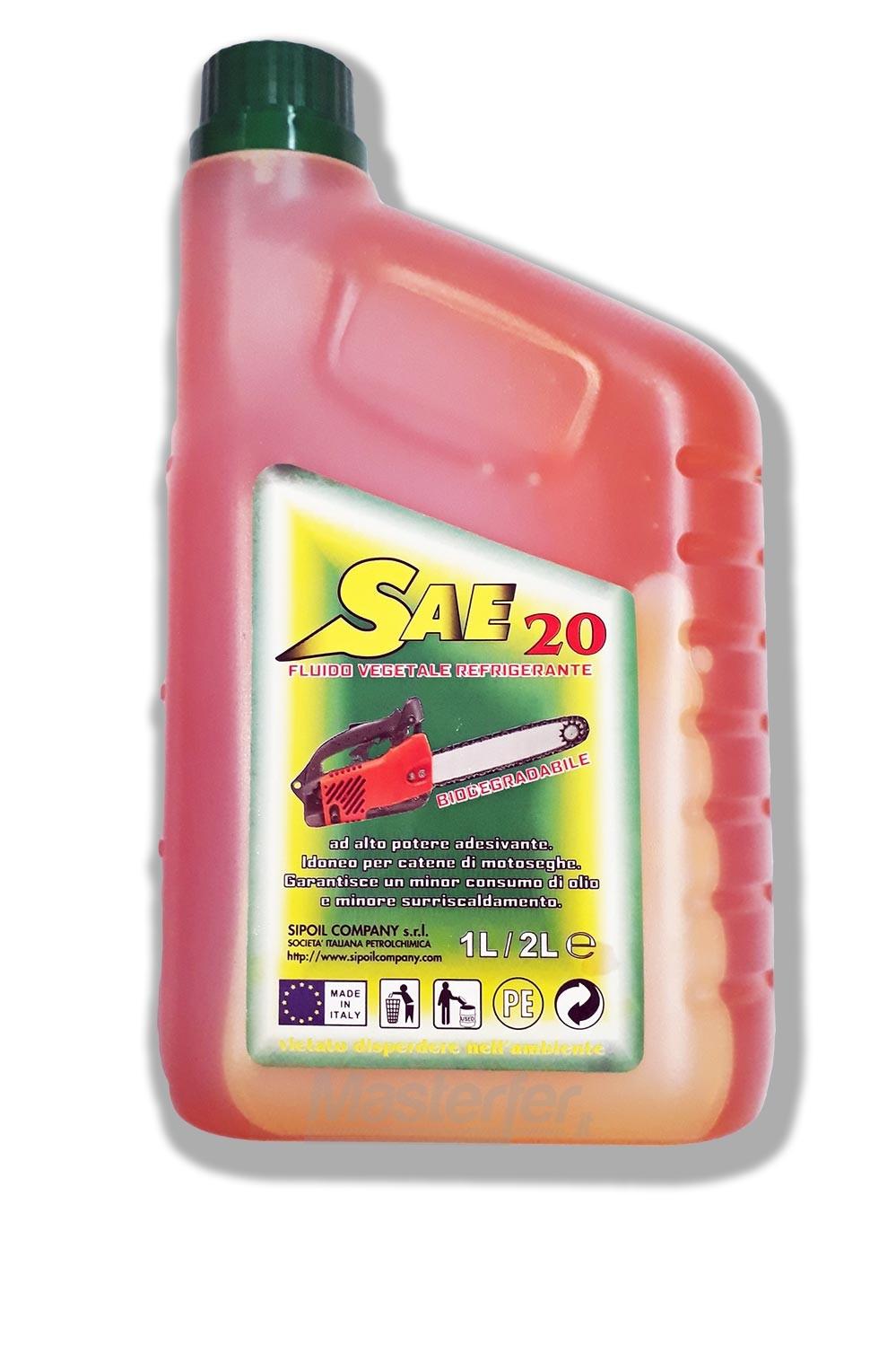 Olio per catena motoseghe Sae 20 - 1lt