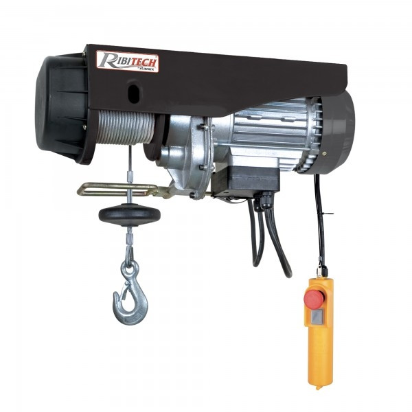 Paranco elettrico Ribitech PE125/250C 125 - 250 kg