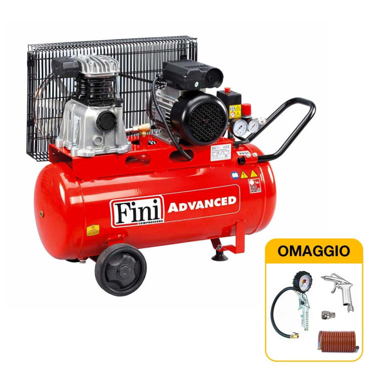 Compressore Fini ADVANCED MK 102-50-2M 50 litri con KIT OMAGGIO