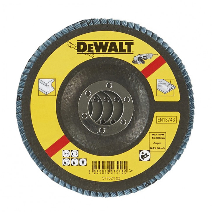 Disco lamellare piatto DEWALT DT3292 115mm Z36