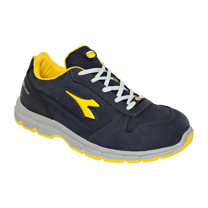 Scarpe antinfortunistiche Diadora Run II Low - S3 SRC ESD blu scuro