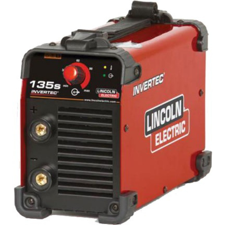 Saldatrice inverter Lincoln Electric Invertec 135S (120 A) con cavi