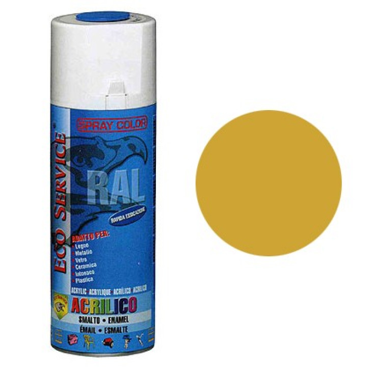 Eco Service RAL1004 spray 400ml - Giallo Oro