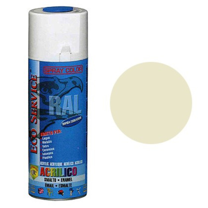 Eco Service RAL1013 spray 400ml - Bianco Perla