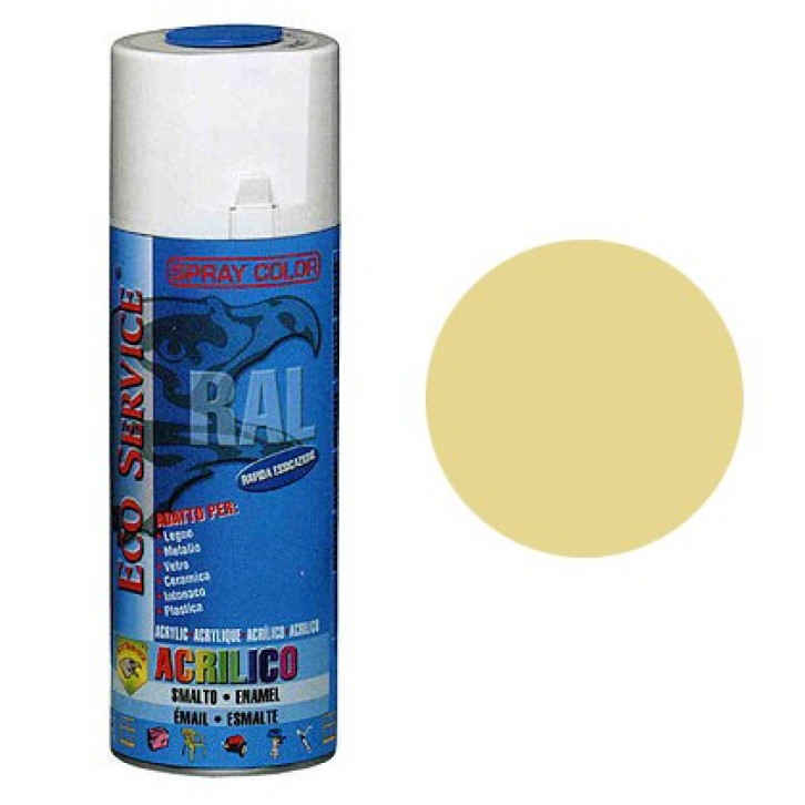 Eco Service RAL1015 spray 400ml - Avorio Chiaro
