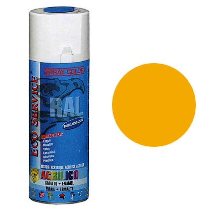 Eco Service RAL1028 spray 400ml - Giallo Melone