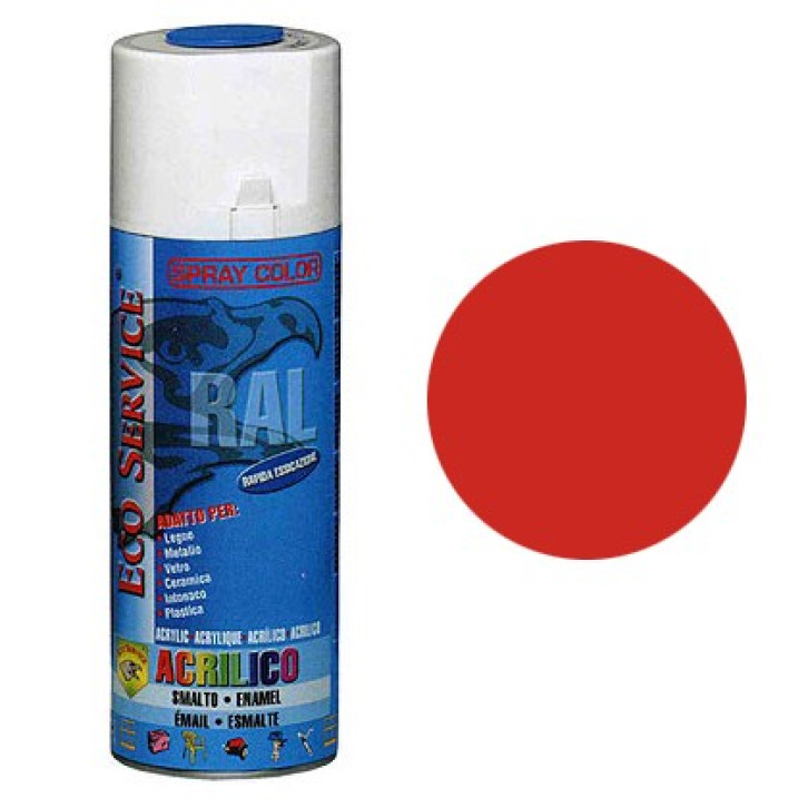 Eco Service RAL2002 spray 400ml - Arancio Sangue