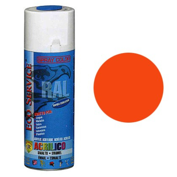 Eco Service RAL2004 spray 400ml - Arancio
