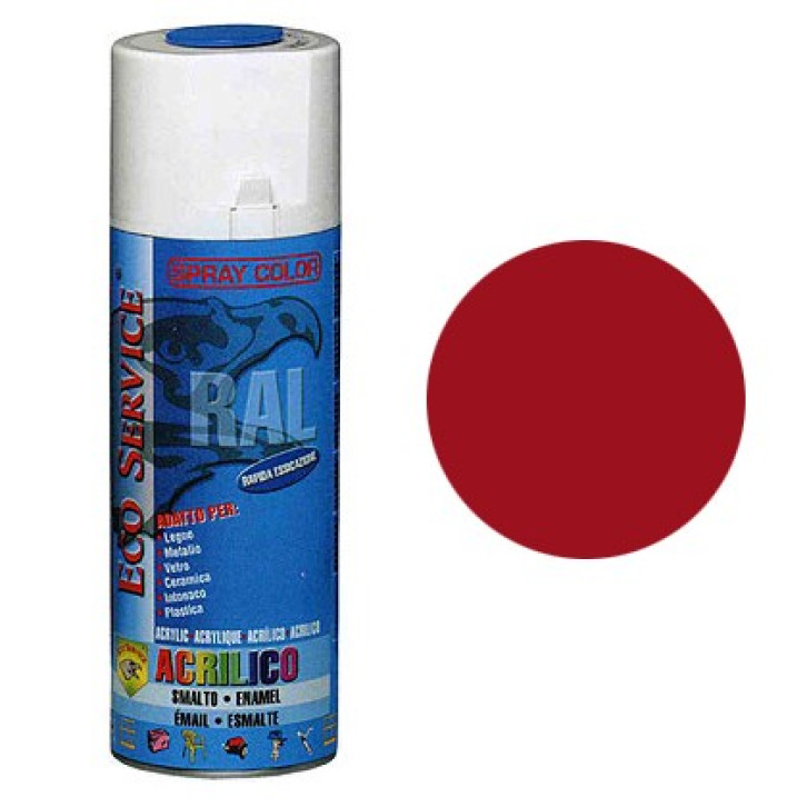 Eco Service RAL3003 spray 400ml - Rosso Rubino