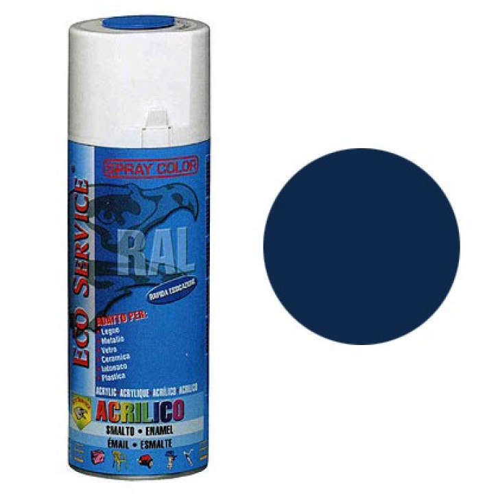Eco Service RAL5010 spray 400ml - Blu