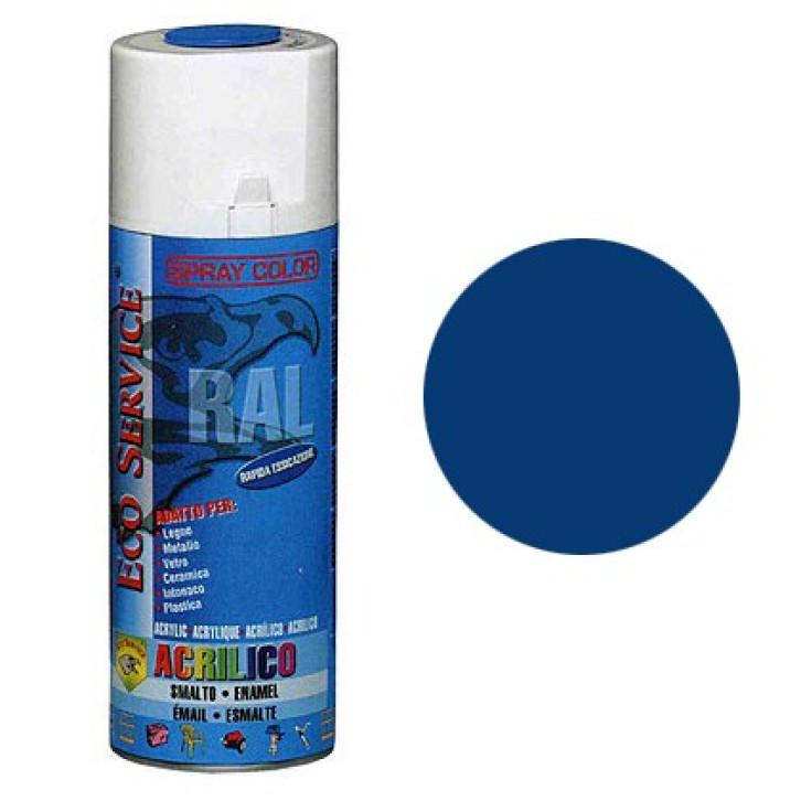 Eco Service RAL5017 spray 400ml - Blu Traffico