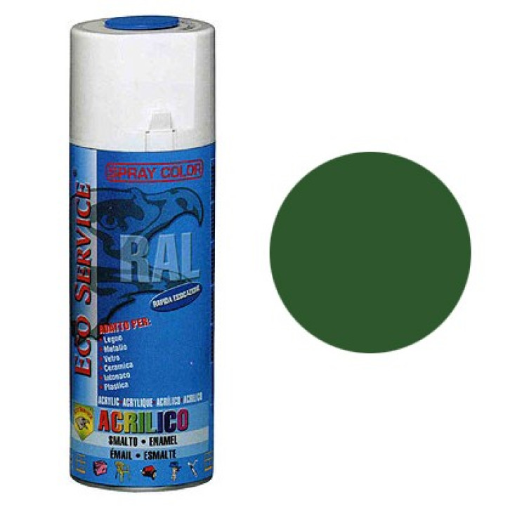 Eco Service RAL6002 spray 400ml - Verde Primavera