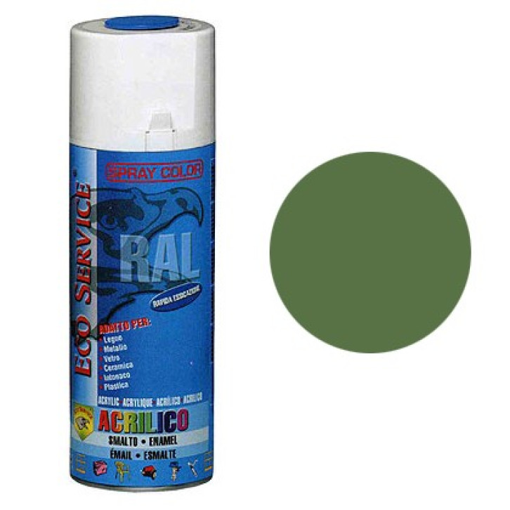 Eco Service RAL6011 spray 400ml - Verde Reseda