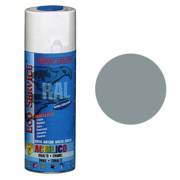 Eco Service RAL7001 spray 400ml - Grigio