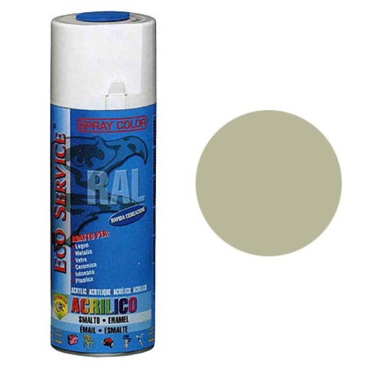 Eco Service RAL7032 spray 400ml - Grigio Medio
