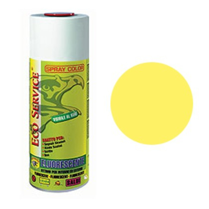 Eco Service spray Fluorescente 400ml - Giallo