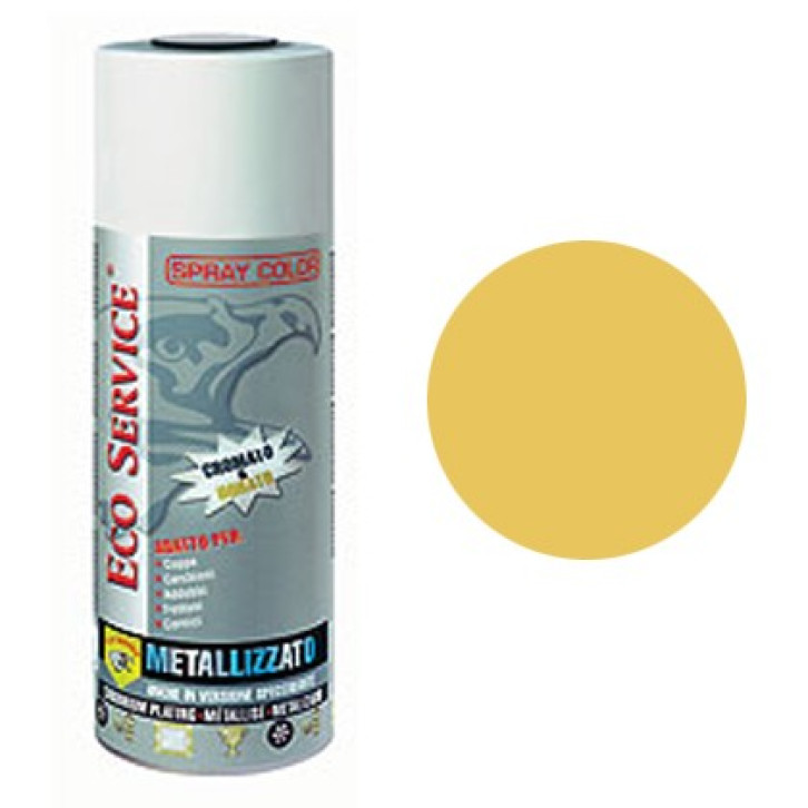 Eco Service spray Metallizzato 400ml - Doratura Specchiante