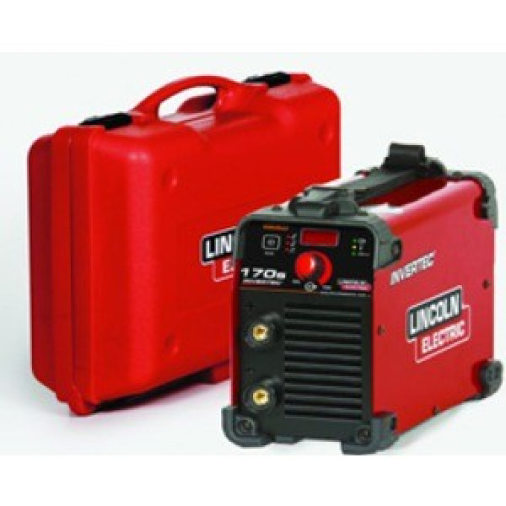 Saldatrice inverter Lincoln Electric Invertec 170S (160 A) con KIT completo pronta all'uso