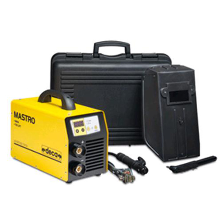 Saldatrice inverter Deca MASTRO 518 HD GEN (180 A) con KIT completo pronta all'uso