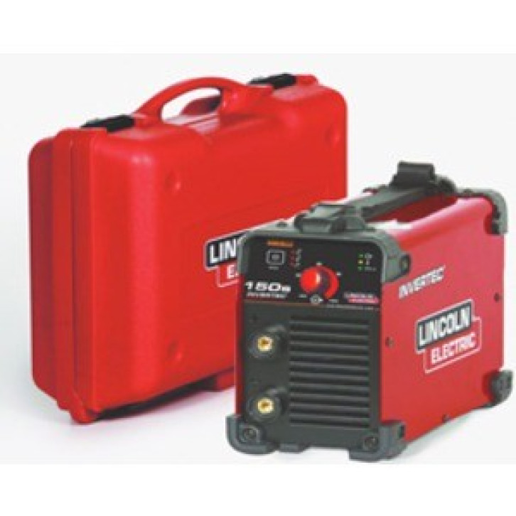 Saldatrice inverter Lincoln Electric Invertec 150S (140 A) con KIT completo pronta all'uso