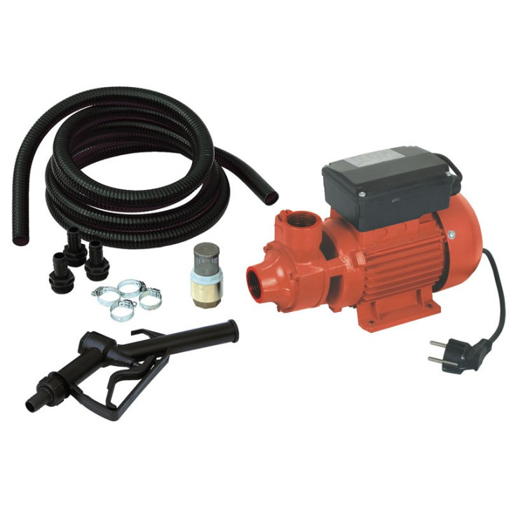 Pompa travaso gasolio Ribitech PRKG115A - con KIT PRO pronta all'uso