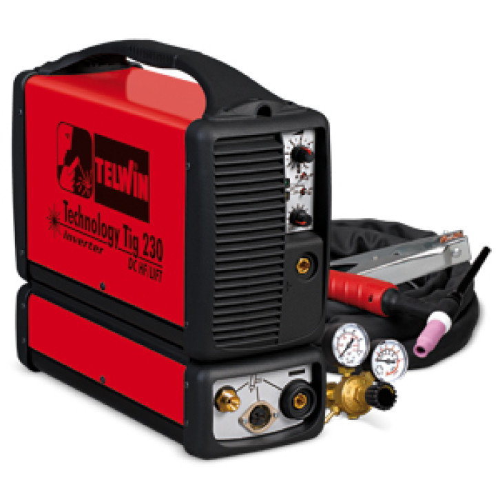 Saldatrice inverter TIG TECHNOLOGY TIG 230 DC-HF/LIFT 230V +ACC.