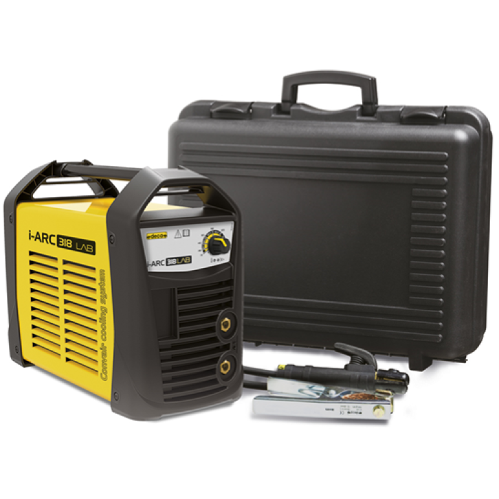 Saldatrice inverter Deca i-ARC 318 LAB (180 A) con KIT completo pronta all'uso