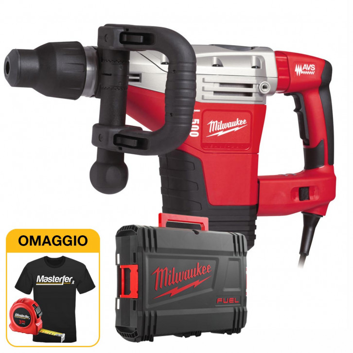 Milwaukee K 500 S - Martello Demo Perforatore 1300W, Colpo 8,5J, Classe 5 kg