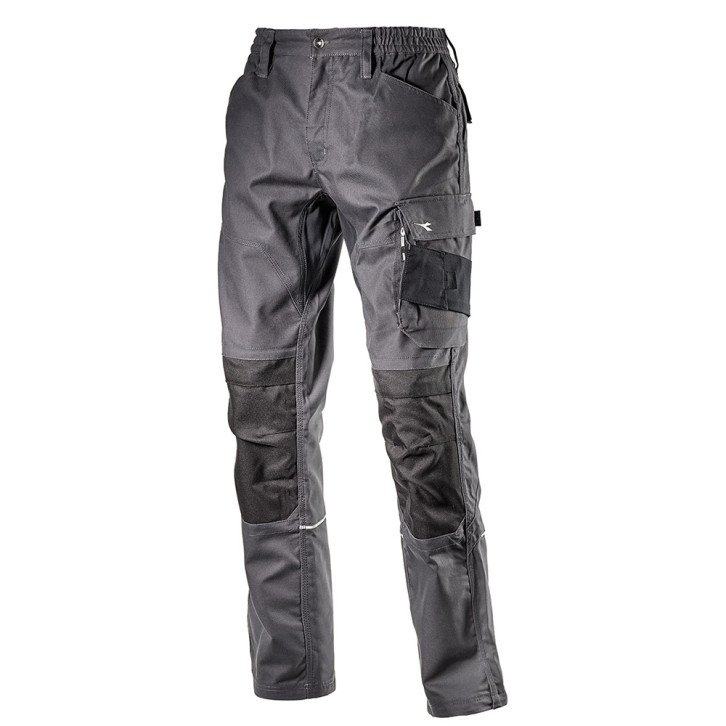 Pantalone da lavoro Diadora Top Performance - Nero carbone - 175551 (80014)