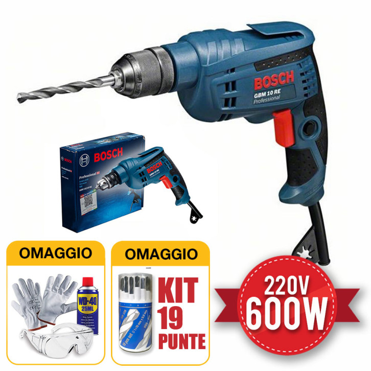 Trapano Bosch GBM 10 RE