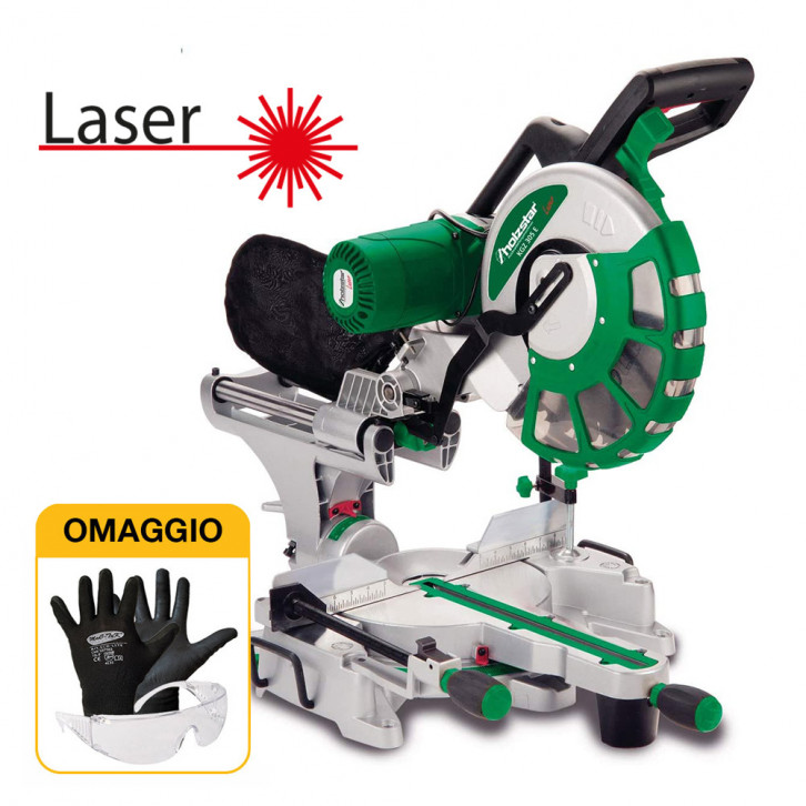 Holzstar KGZ 305 E - Troncatrice radiale con laser
