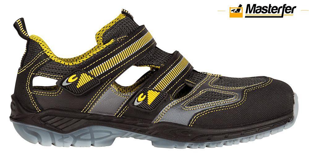 Dettagli su Sandali da lavoro antinfortunistici Cofra ACE (S1 P SRC) scarpe basse estive