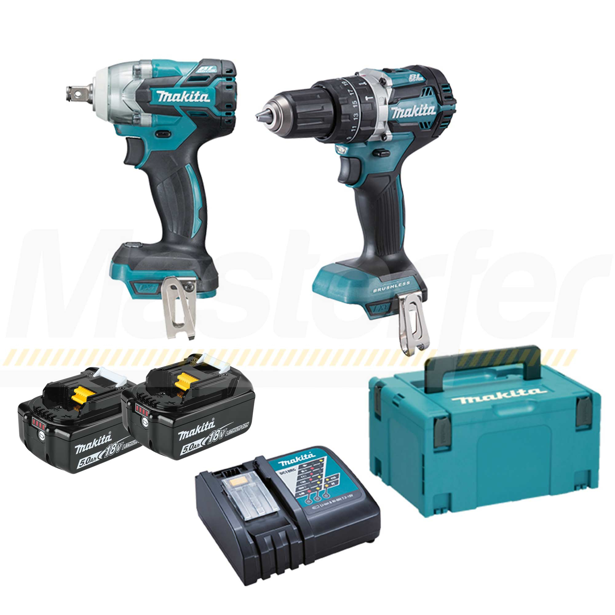 kit utensili a batteria makita dlx2250tj1