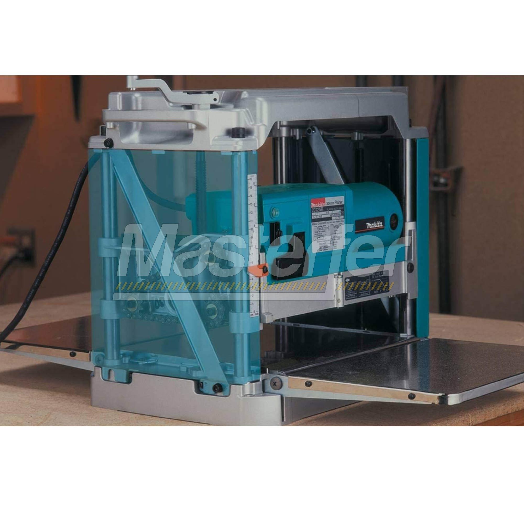 pialla spessore makita 2012nb professionale utilizzo con tavola