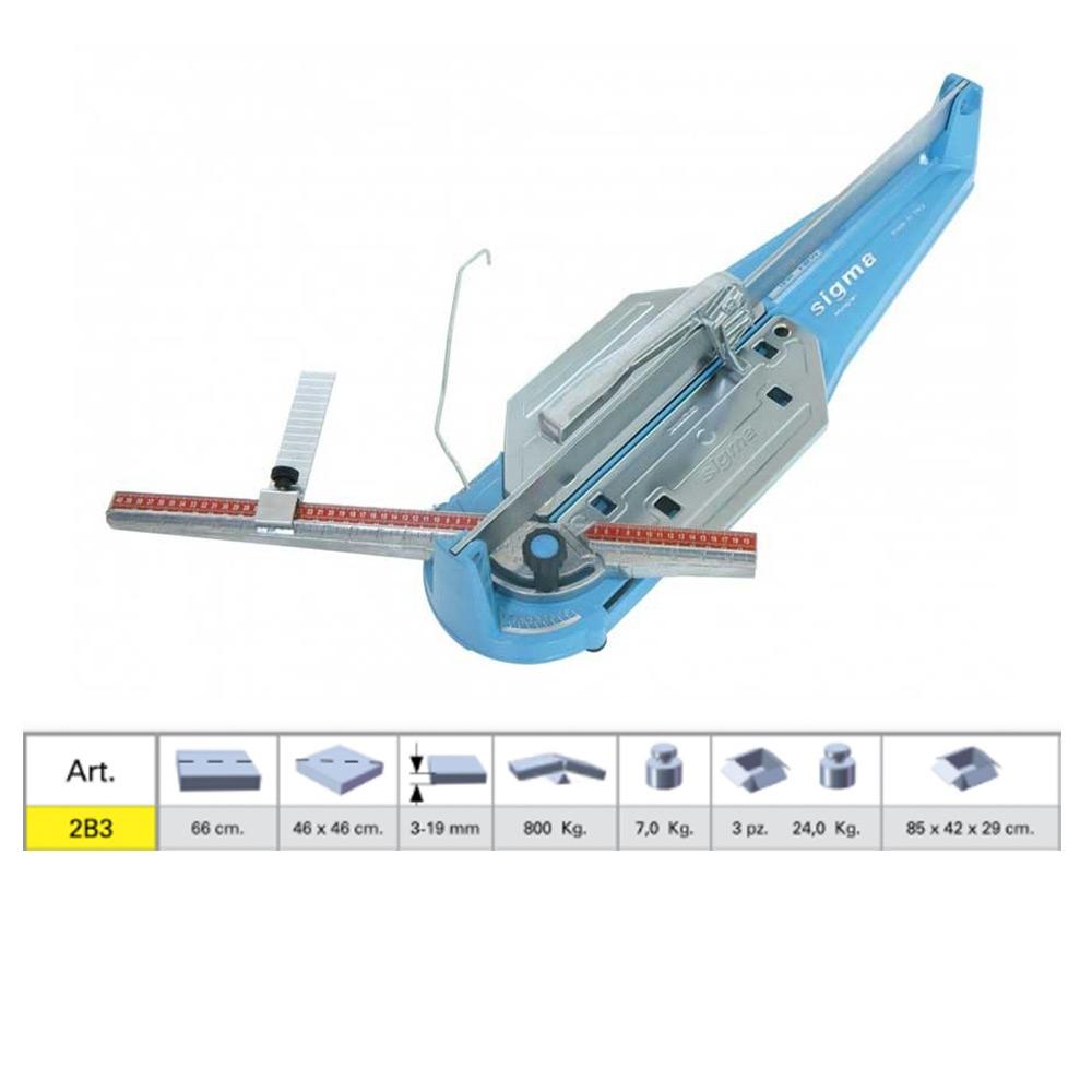 sigma tagliapiastrelle 2b3 serie tecnica taglia mattonelle