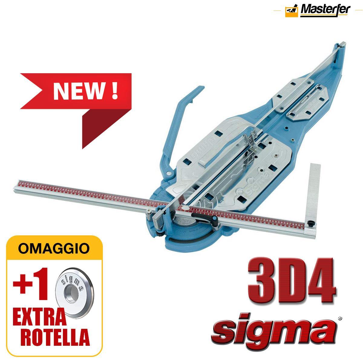 SIGMA 3D2 95cm TAGLIAPIASTRELLE Professionale Grès Mattonelle Prodotto Italiano